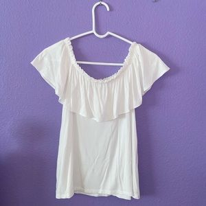 Abercrombie and Fitch Off-the-Shoulder Top